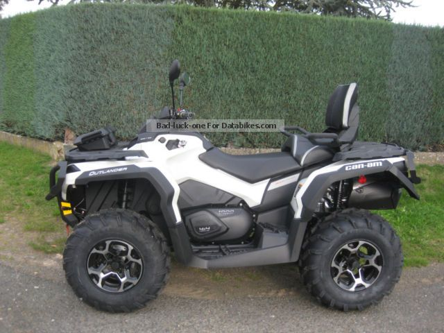 2013 Can Am  Outlander MAX 1000 Motorcycle Quad photo