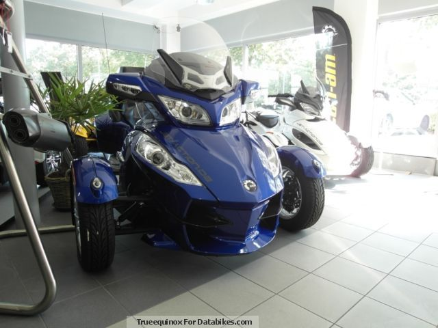2012 BRP  Can Am Spyder RT Techno SM5 Motorcycle Other photo