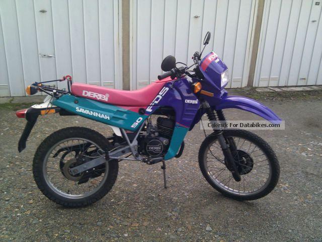 1992 Derbi  Savannah Motorcycle Motor-assisted Bicycle/Small Moped photo