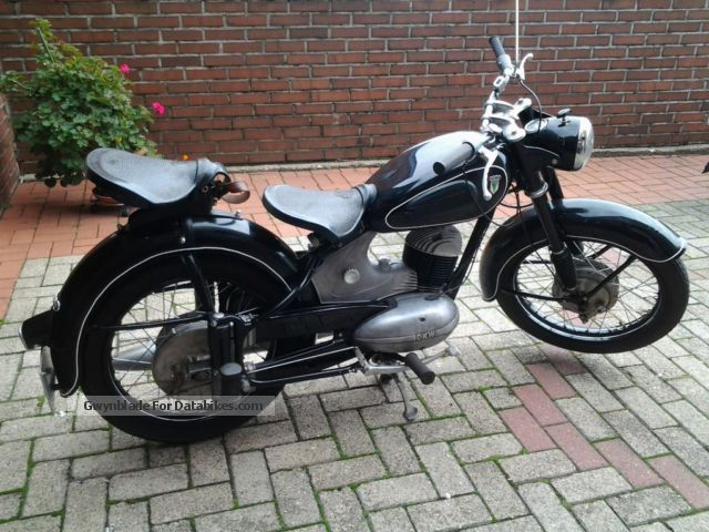 DKW  RT 1954 Vintage, Classic and Old Bikes photo
