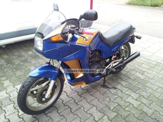 1987 Cagiva  Alazzurra Motorcycle Motorcycle photo