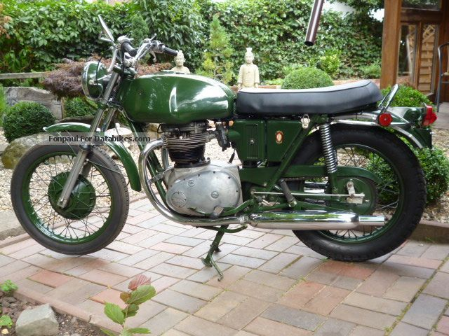 1956 BSA  A65 Thunderbolt Military Motorcycle Motorcycle photo