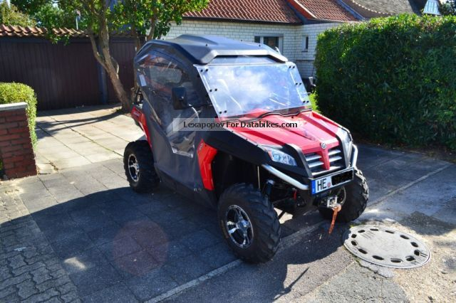 2013 CFMOTO  Bazooka TerraCross 625 EFI 4x4 with LOF approval Motorcycle Quad photo