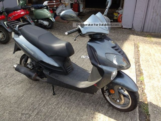 2009 WMI  Rex RS 1100 Motorcycle Scooter photo