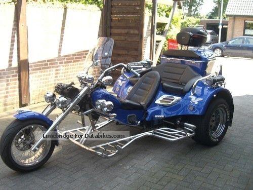 1994 Rewaco  Completely rebuilt in 2008 HS4 Motorcycle Trike photo