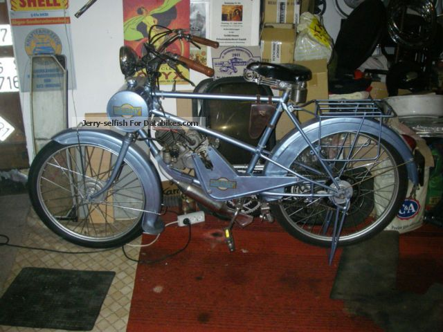 Other  Derny, Year :1936-52, 98cc, restored. 1939 Vintage, Classic and Old Bikes photo