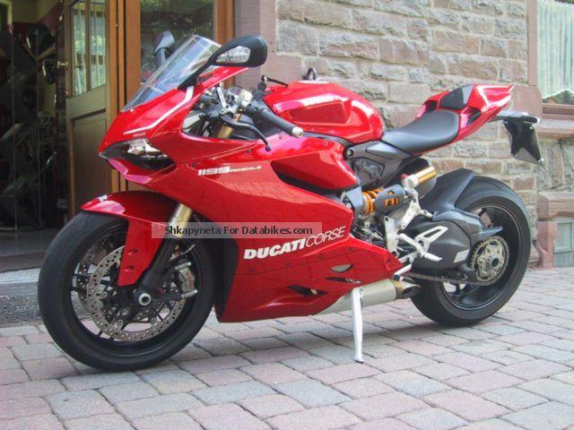 2013 Ducati  1199 Panigale Motorcycle Sports/Super Sports Bike photo