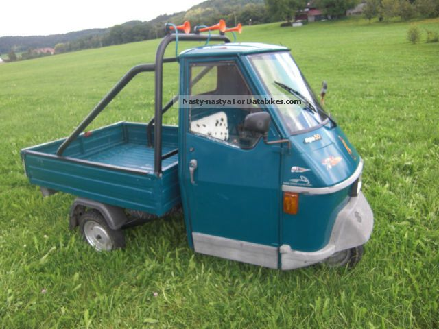 1990 Piaggio  Ape 50 Motorcycle Lightweight Motorcycle/Motorbike photo