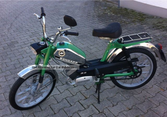 1977 Zundapp  Zündapp ZR 10 Motorcycle Motor-assisted Bicycle/Small Moped photo