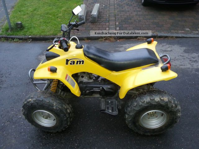 2008 SMC  Ram 50 for road use Motorcycle Quad photo