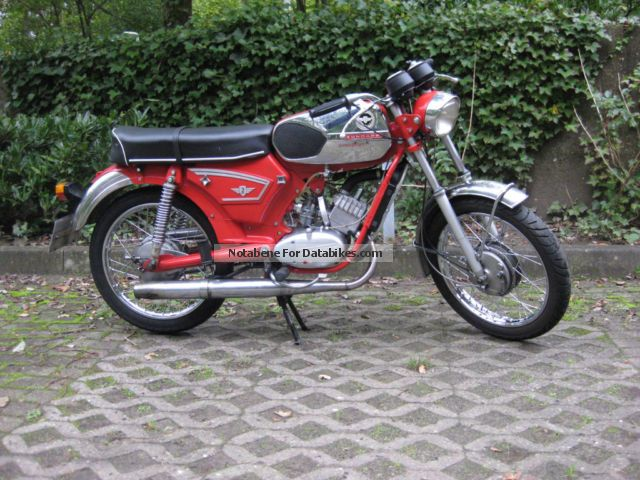 Zundapp  Zündapp KS50 Watercooled 517 1969 Vintage, Classic and Old Bikes photo