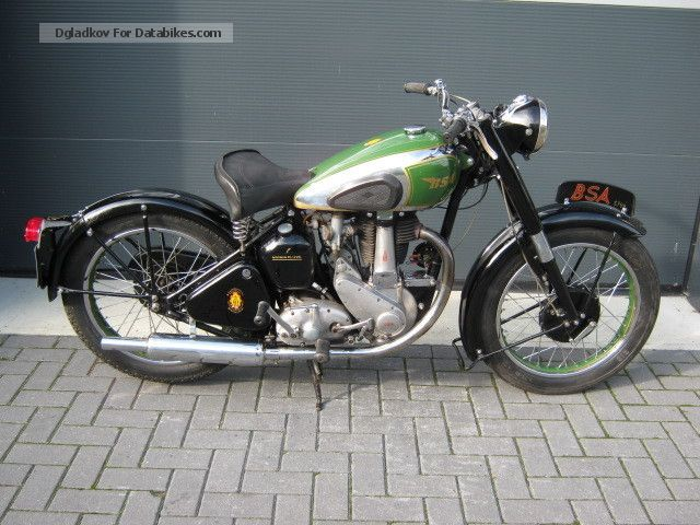 1948 BSA  B31 Motorcycle Tourer photo