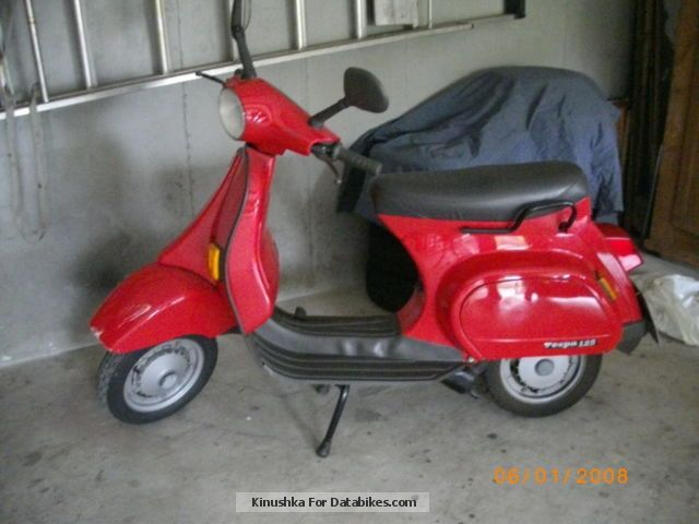 Vespa  PK 125 1991 Scooter photo