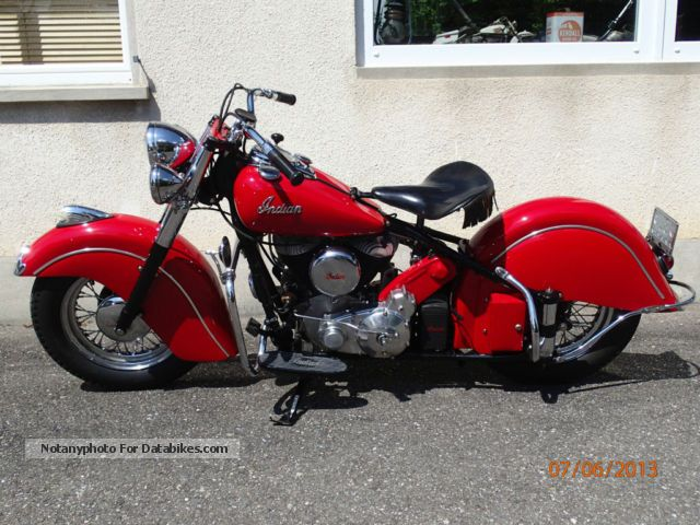 Indian  Chief 1950 Vintage, Classic and Old Bikes photo