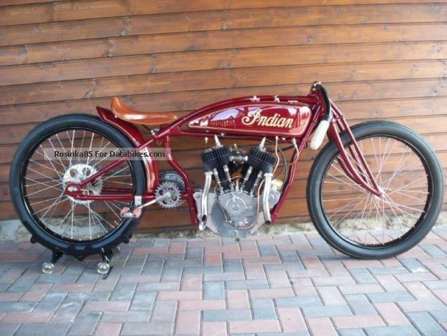 Indian  Board Track Racer 1920 Vintage, Classic and Old Bikes photo