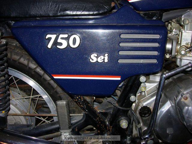1976 Benelli  750 Be Motorcycle Motorcycle photo