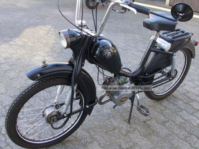 Other  Two-wheeler Union, Rex 50, DKW, Zundapp, Oldi 52Jahre 1963 Vintage, Classic and Old Bikes photo