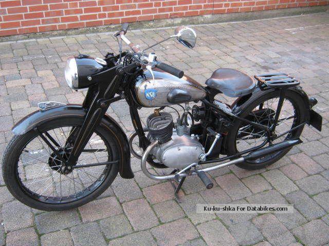 NSU  125 ZDB 1950 Vintage, Classic and Old Bikes photo