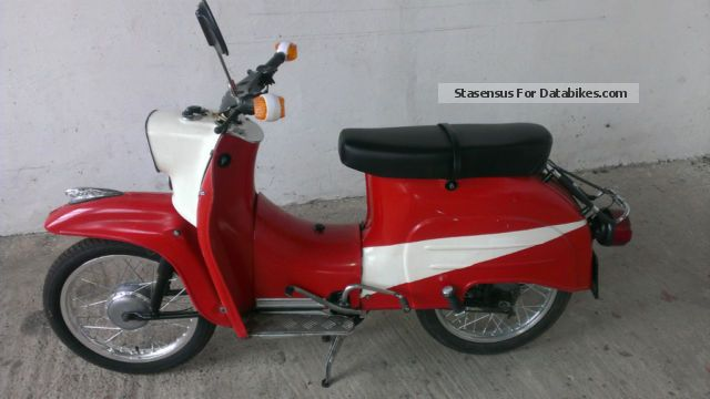 1987 Simson  Swallow Motorcycle Motor-assisted Bicycle/Small Moped photo