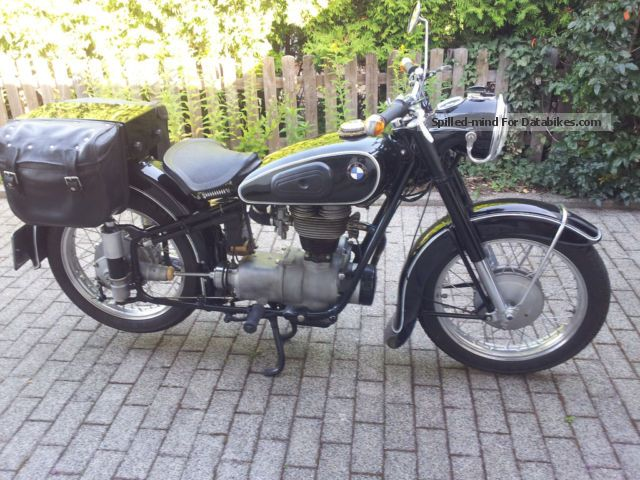 BMW  25/3 1953 Vintage, Classic and Old Bikes photo