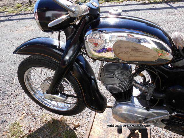 NSU  NSU Maxi, Preti, oldtimer 1958 Vintage, Classic and Old Bikes photo
