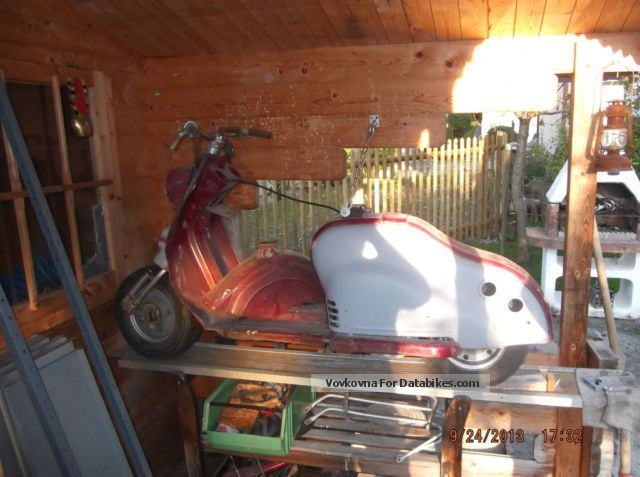 NSU  Lambretta 1953 Vintage, Classic and Old Bikes photo