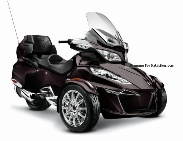 2012 Bombardier BRP Can-Am Spyder RT Limited 2014 NEW SE6
