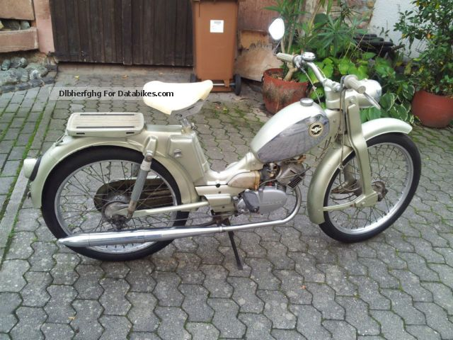 Zundapp  Zündapp climber M 50 1967 Vintage, Classic and Old Bikes photo