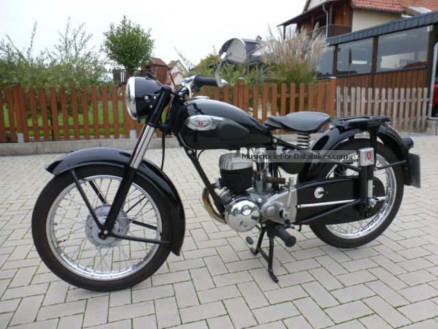 Zundapp  Zündapp DB 234 1954 Vintage, Classic and Old Bikes photo
