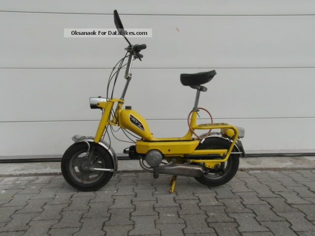 1972 DKW  508 Motorcycle Motor-assisted Bicycle/Small Moped photo