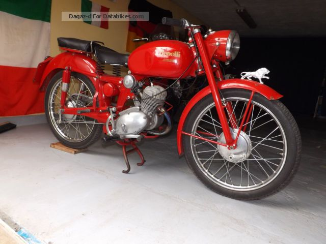 Benelli  Leoncino 125 1953 Vintage, Classic and Old Bikes photo