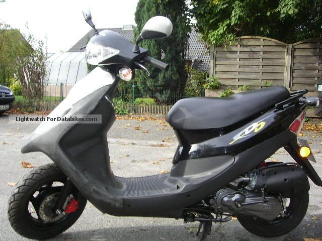 SYM  DD 25er moped scooter with only 645 Miles! 2008 Scooter photo
