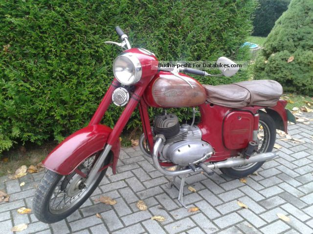 Jawa  Type 355, Bj.59 original condition, 125cc 1959 Vintage, Classic and Old Bikes photo