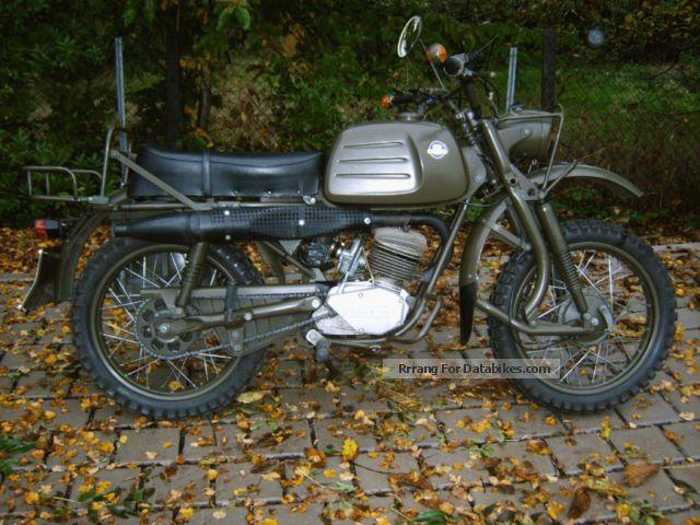 1980 Hercules  K 125 Military, V1, vintage, original condition Motorcycle Enduro/Touring Enduro photo