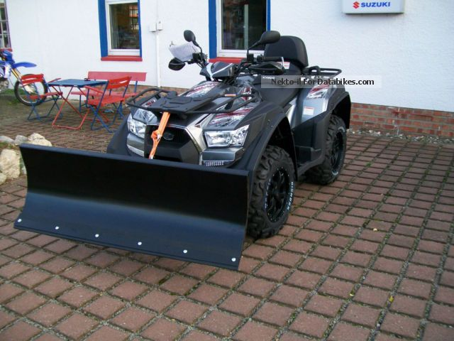 Kymco  Quad / ATV MXU 700 + EXi LOF snowplow 2012 Quad photo