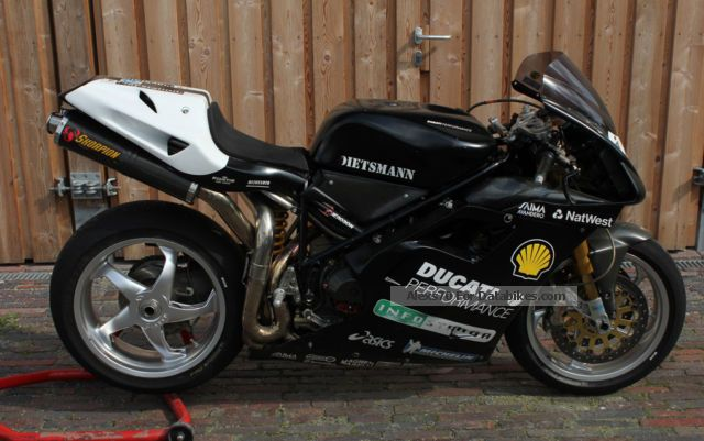 2005 Ducati  955 Pierobon Racing Motorcycle Racing photo