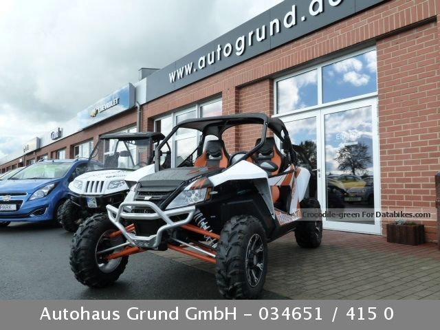 2013 Arctic Cat  Wild Cat 1000iX including roof * LOF-approval Motorcycle Rally/Cross photo