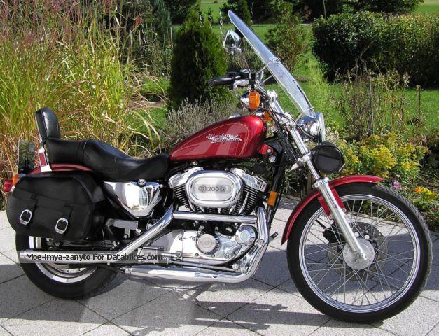 1998 Harley Davidson  Harley-Davidson 1200 XL Custom Motorcycle Chopper/Cruiser photo