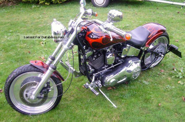 1994 Harley Davidson  Harley-Davidson soft part Motorcycle Chopper/Cruiser photo