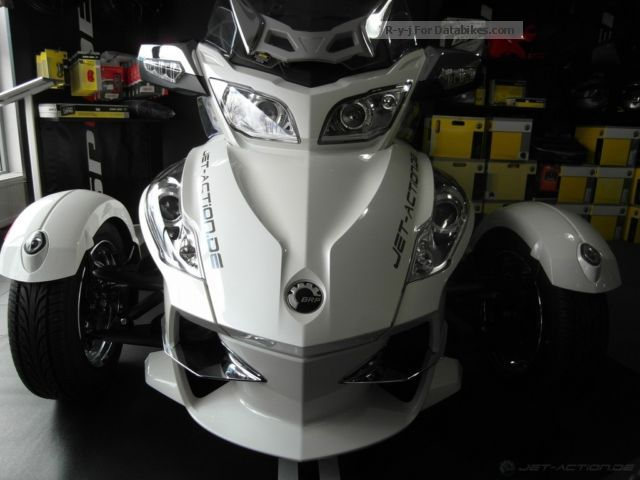 2012 Can Am  BRP Spyder RT Limited LTD SE5 Motorcycle Motorcycle photo
