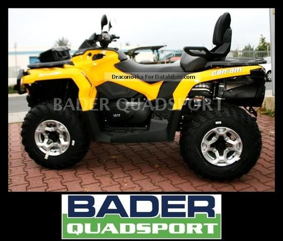 2012 Can Am  OUTLANDER MAX 500 EFI 2 CYLINDER ROTAX DPS * 13 Motorcycle Quad photo