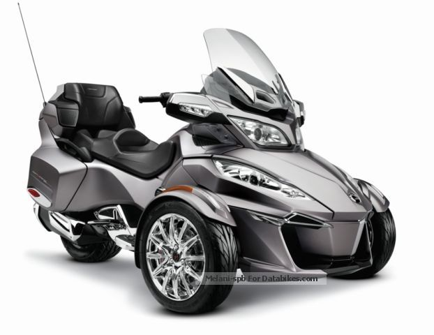 2012 BRP  Can-Am Spyder RT Limited 2014 NEW SE6 Motorcycle Trike photo