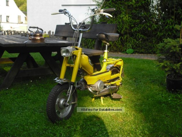1972 Hercules  CB1 Collectible Motorcycle Motor-assisted Bicycle/Small Moped photo
