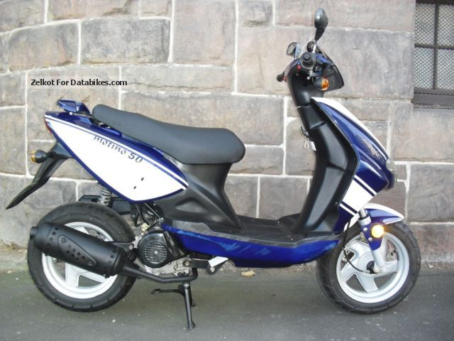 2005 CPI  Benzhou 4 stroke with only 3690 km new condition! Motorcycle Scooter photo