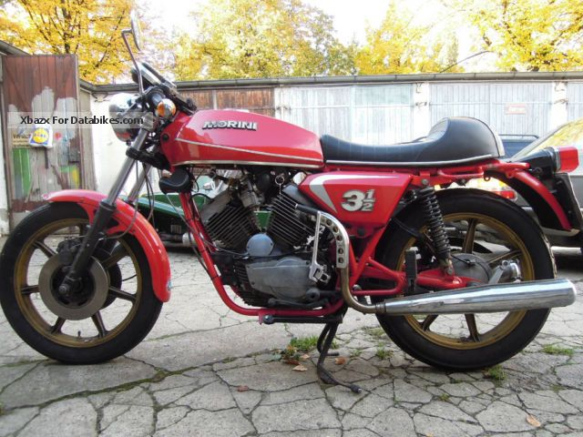 1980 Moto Morini  3 1/2 Motorcycle Sports/Super Sports Bike photo