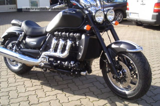 2012 Triumph  Rocket 3 Roadster Motorcycle Motorcycle photo