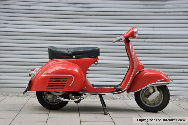1963 Vespa  GS 160 Motorcycle Scooter photo