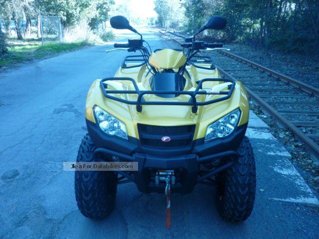2013 Kymco  MXU 465i Motorcycle Quad photo