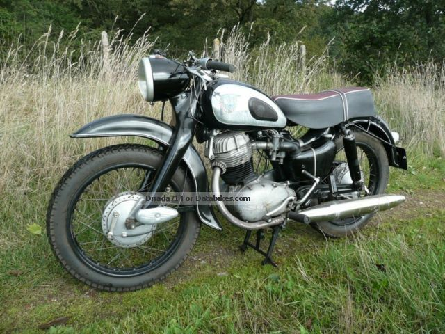 NSU  MAX 250 Supermax 1958 4600km OSB 1958 Vintage, Classic and Old Bikes photo