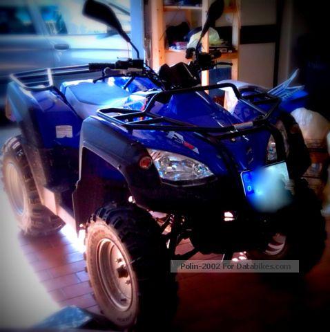 2010 Adly  320 ATV Motorcycle Quad photo